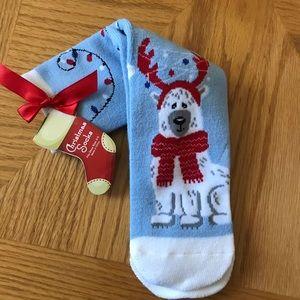 NWT Polar Bear Christmas Crew Socks